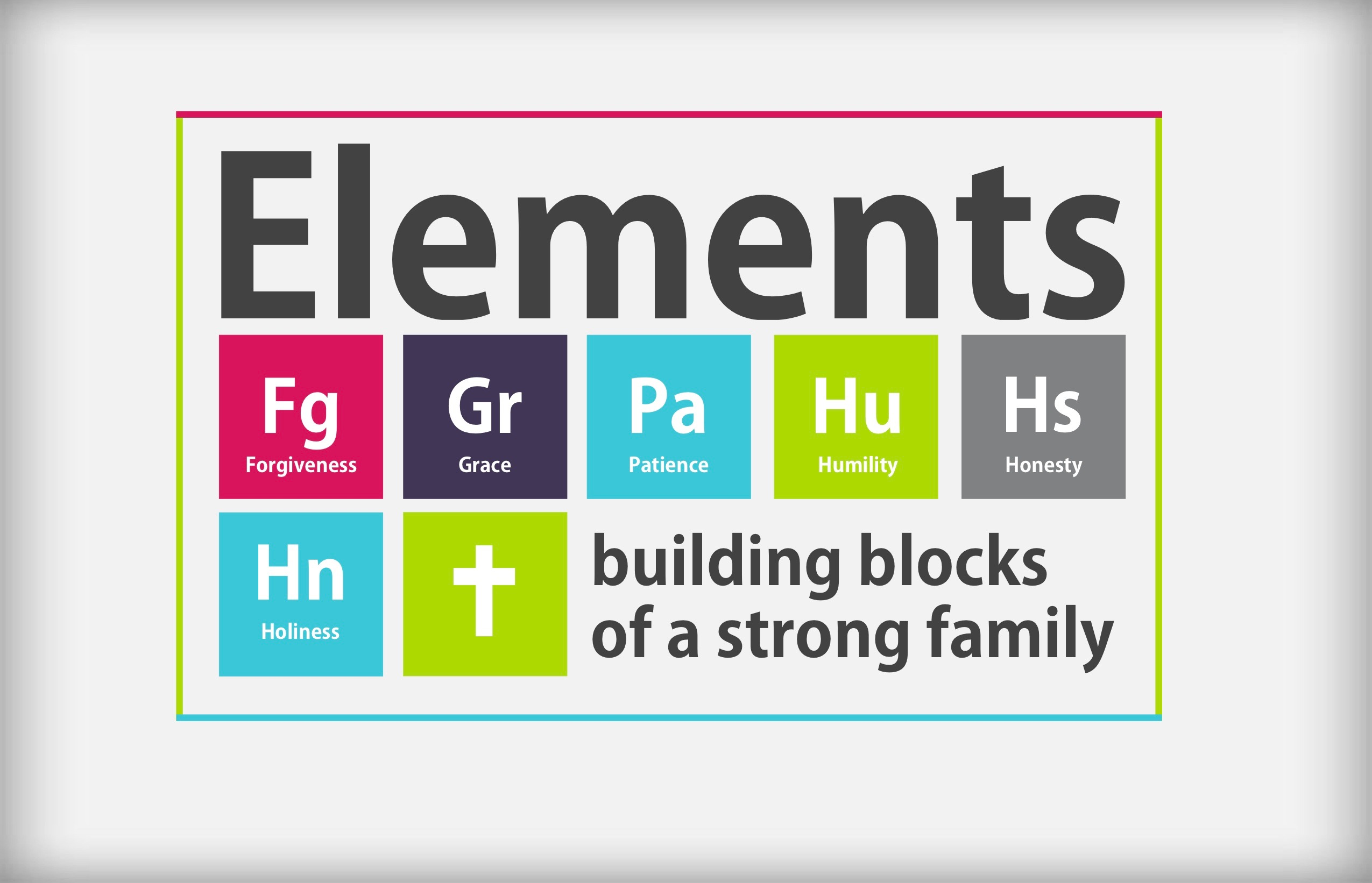 Elements: Building Blocks of A Strong Family